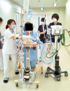 ICUでの早期リハビリテーション