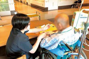 病棟での嚥下リハビリテーション