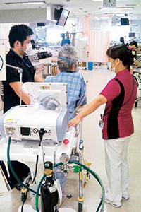 ICUでのリハビリテーション